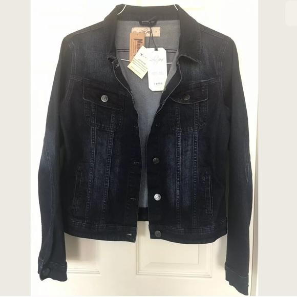 lola Jackets & Blazers - Lola Jeans Denim Jacket  Size Small NEW